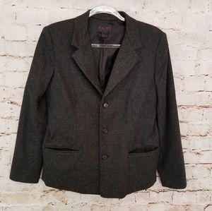 Ralph Ralph Lauren Plaid Label Coat